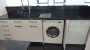 Washing machine and separate clothes dryer