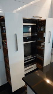 Pull-out pantries